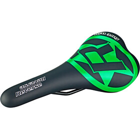 Reverse Fort Will Style Saddle black/green